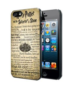 Harry Potter And The Sorcerers Stone Samsung Galaxy S3 S4 S5 Note 3 Case, Iphone 4 4S 5 5S 5C Case, Ipod Touch 4 5 Case