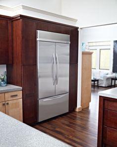 Kitchenaid Kbfc42fts kitchenaid 5 door vs. samsung french door refrigerator (reviews