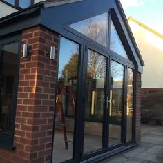 Porch Extension, Conservatory Extension, Building Extension, House Extension Design, Extension Designs, Glass Extension, Rear Extension, House Design, Extension Ideas