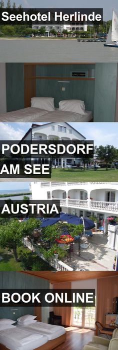 Seehotel Herlinde in Podersdorf am See, Austria. For more information, photos, reviews and best prices please follow the link. #Austria #PodersdorfamSee #travel #vacation #hotel