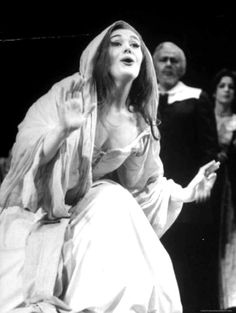 """Opera Singer Joan Sutherland in the Title Role of """"Lucia Di Lammermoor"""" at the Metropolitan Opera Opera Music, Opera Singers, Divas, Joan Sutherland, Music Theater, Theatre, Metropolitan Opera, Music Composers, Ballet"""