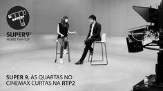 Luísa Sequeira e Tiago Alves no Cinemax rtp2 - super 9 mobile film fest