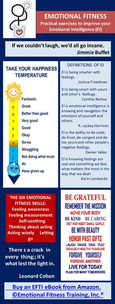 Emotional Intelligence and Emotional Fitness