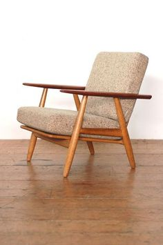 Hans Wegner cigar chair Hmmm I had a chair very similar to this... wonder where it's stored?!