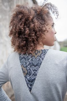 Sukienka Ethno On My Back Grey  | www.kokoworld.pl #kokoworld #handmade #dress #gray #ethno #africa