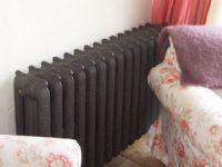 Cast iron radiator. Decorative Radiators, Radiator Valves, Cast Iron Radiators, It Cast, Copper, Home Appliances, Bronze, House Appliances, Appliances