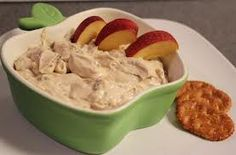 Spiced Chai Fruit Dip -- only 2 ingredients and it's awesome!!! Www.mydcdsite.com / mrsbrownssweetshop