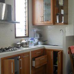 gambar desain dapur sederhana dan murah terbuka