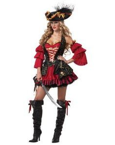California Costume Womens Spanish Pirate Costume