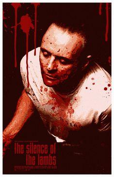 Silence of the Lambs Hannibal Lecter 11 x 17 Art by cultclassicsaz