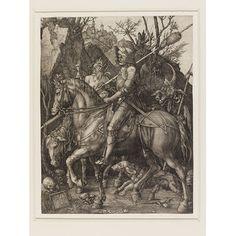 Print - Knight, Death and the Devil, Albrecht Durer