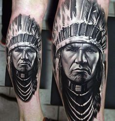 Indian Leg Tattoo Ideas For Men