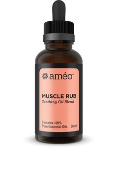 Améo Muscle Rub was developed to support your active lifestyle by naturally and effectively soothing sore, overworked muscles. Each essential oil incorporated—including Wintergreen, Eucalyptus Globulus, Peppermint, and Helichrysum—was chosen to provide fast-acting relief when you need it most.