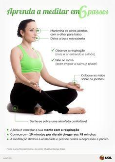 SUS usa meditação para tratar estresse e ansiedade; aprenda técnicas - Notícias - Saúde