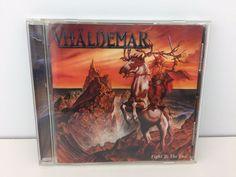 Vhaldemar Fight to the End CD 2002 Japan Arise  #PowerProgressiveMetal