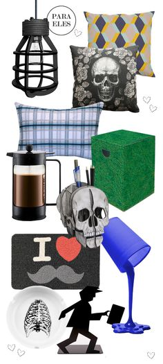 Especial para homens. Veja mais: http://www.casadevalentina.com.br/blog/materia/dicas-de-presentes--dia-dos-namorados-1.html #homens #meninos #namorados #decor #interior #boys #gift #design #casadevalentina