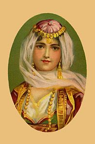 PRETTY TURKISH  WOMAN PORTRAIT PHOTO