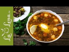 Soleanca - Reteta VIDEO Chana Masala, Chili, Curry, Ethnic Recipes, Nicu, Mai, Soups, Youtube, Food Food