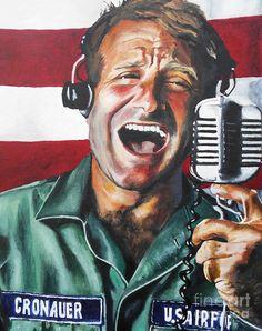 Good Morning Vietnam Painting - Good Morning Vietnam by Kevin J Cooper Artwork