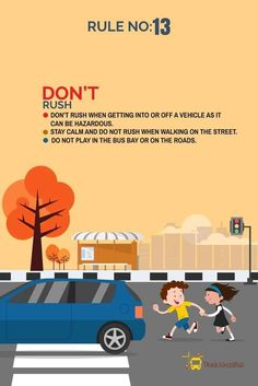 Road Safety Tips : Make roads safer for kids, Drive Responsibly – The Mommypedia