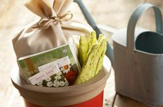 "Many people are used to baskets full of goodies this time of year, so create springtime gift baskets for those who are ready to celebrate. Theme your baskets to their interests, life achievements, or just as a way to say, ""I'm glad you're my friend."""