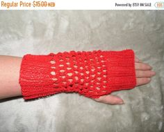 ON SALE Fancy Fingerless Lace Hand by KnittingBlissDesigns on Etsy Lace Gloves, Fingerless Gloves, Sell On Etsy, Arm Warmers, Hand Knitting, Fancy, Bicycling, Early Morning, Trending Outfits