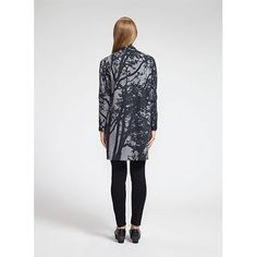 The perfect layering piece for autumn, featuring Maija Isola's Tuuli (Wind) pattern. Marimekko Aani Grey Cardigan - $345