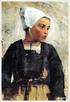 Helene Sofia Schjerfbeck (Finnish, 1862 - 1946). Portraits - «Впечатления дороже знаний...»