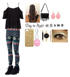 """""""Day to Night"""" by jamwich ❤ liked on Polyvore featuring Clarks, Marc by Marc Jacobs, Kate Spade, Eos and Style & Co."""
