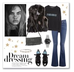 """""""Fall outfit #24"""" by bianca-gasparetti ❤ liked on Polyvore featuring rag & bone/JEAN, Étoile Isabel Marant, Barneys New York, Zadig & Voltaire, Rolex and Lanvin"""
