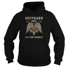 GEFFRARD Family Lifetime Member - Last Name, Surname TShirts