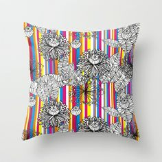 Papoula Throw Pillow by guidtati