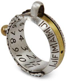 Anillo/Reloj Solar. Tico, el amigo de Willy Fog tenía uno. Siempre me encantaron...