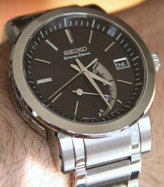 Seiko SNR005 watch 6. Spring Drive