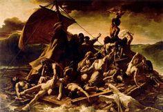 La Balsa de la Medusa. Géricault. Romanticismo. S. XIX.