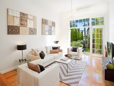 Another angle of a recently styled property by Valiant Hire  in Bondi Junction, Sydney