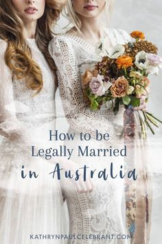 "Do you need a #wedding ring? Do you have to say ""I do""? Does someone have to pronounce you #married? Here's how to be legally married in Australia >> Weddings, marriage, celebrant, officiant, order of service, ceremony, bride, groom, same sex, love, relationships, couples, sexuality, gender & body diversity, sydney, northern beaches > read more at kathrynpaulcelebrant.com"