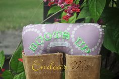 Boots Up by Endear Me Handmade boot stuffer in lavender circles cotton fabric - closet organizer; boot trees by EndearMe on Etsy