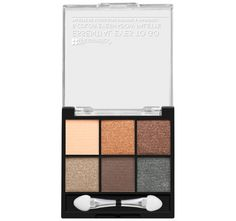 Get a taste of our most popular full-size color collections with our Eyes To Go Palettes, 6-color mini mixes of BH's greatest hits! Take your pick of our petite palettes: light or dark, subtle or smokey, bright or basic, pale or pastel, neutral or intense, in mattes, metallics or shimmers. All feature silky, pigment-packed powders that can be blended, layered and worn alone to create stripped-down to glammed-up looks. These edited assortments are easily portable for convenient touch-ups a...