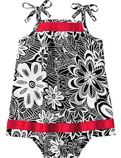 Baby girl dress - @Megan Jeffery, how cute is this?