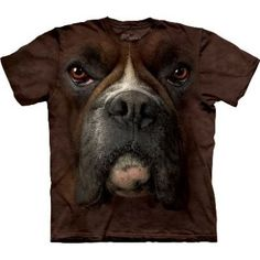 Boxer Face T-Shirt  http://shop.themountain.me/categories/Big-Face-Animals/