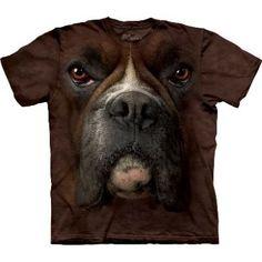 Boxer Face T-Shirt  http://shop.themountain.me/categories/Big-Face-Animals/