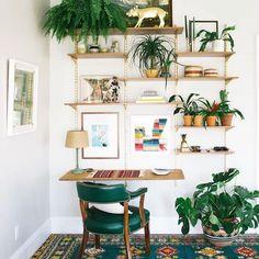 A creative jungle | Via dabito on Instagram