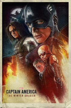 Captain America: The Winter Soldier by Paul Shipper