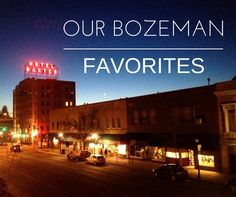 It's no secret that life in Bozeman is pretty great. We have fantastic restaurants, parks, local businesses and an unlimited amount of things to do outside. We are constantly finding…