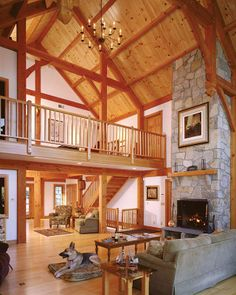 The Davis Timber Frame Home
