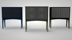 """Geo"" cabinet collection."