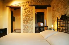 Superior Room Del Gastaldo - stone and plastered walls. Cozy and intimate room good for a couple. (21MQ)