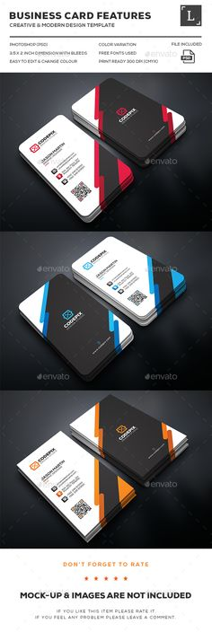 Creative Business Card Template PSD. Download here: http://graphicriver.net/item/creative-business-card/16160968?ref=ksioks
