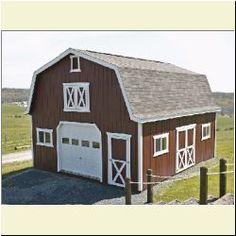 Hi-Loft Porchbarns sold at Amish Buildings. Amish Cabins, 1000 Sq Ft, Small House Plans, Tiny Homes, Homesteading, Ohio, Diy Ideas, Barn, Loft